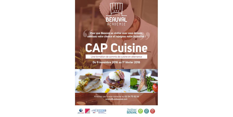 Une acad mie de cuisine beauval beauval actus for Academie de cuisine