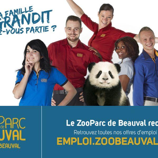 Beauval recrute pour 2019 ! - ZooParc de Beauval