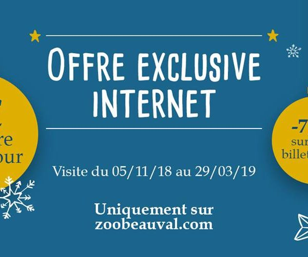 Offre exclusive internet ! - ZooParc de Beauval