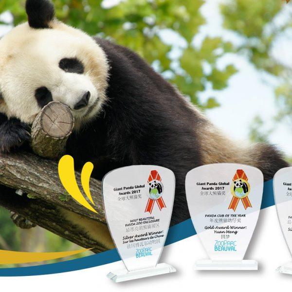 Yuan Meng aux Giant Panda Global Awards - ZooParc de Beauval