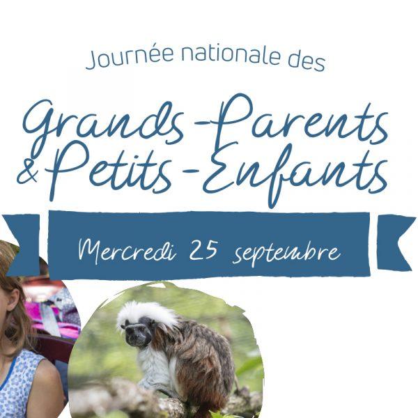 Journée nationale des Grands-Parents et des Petits-Enfants - ZooParc de Beauval