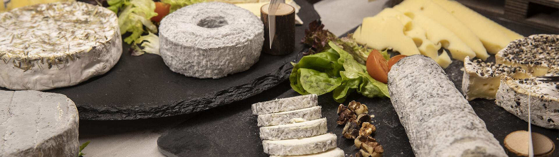 Plateau de fromage de la région