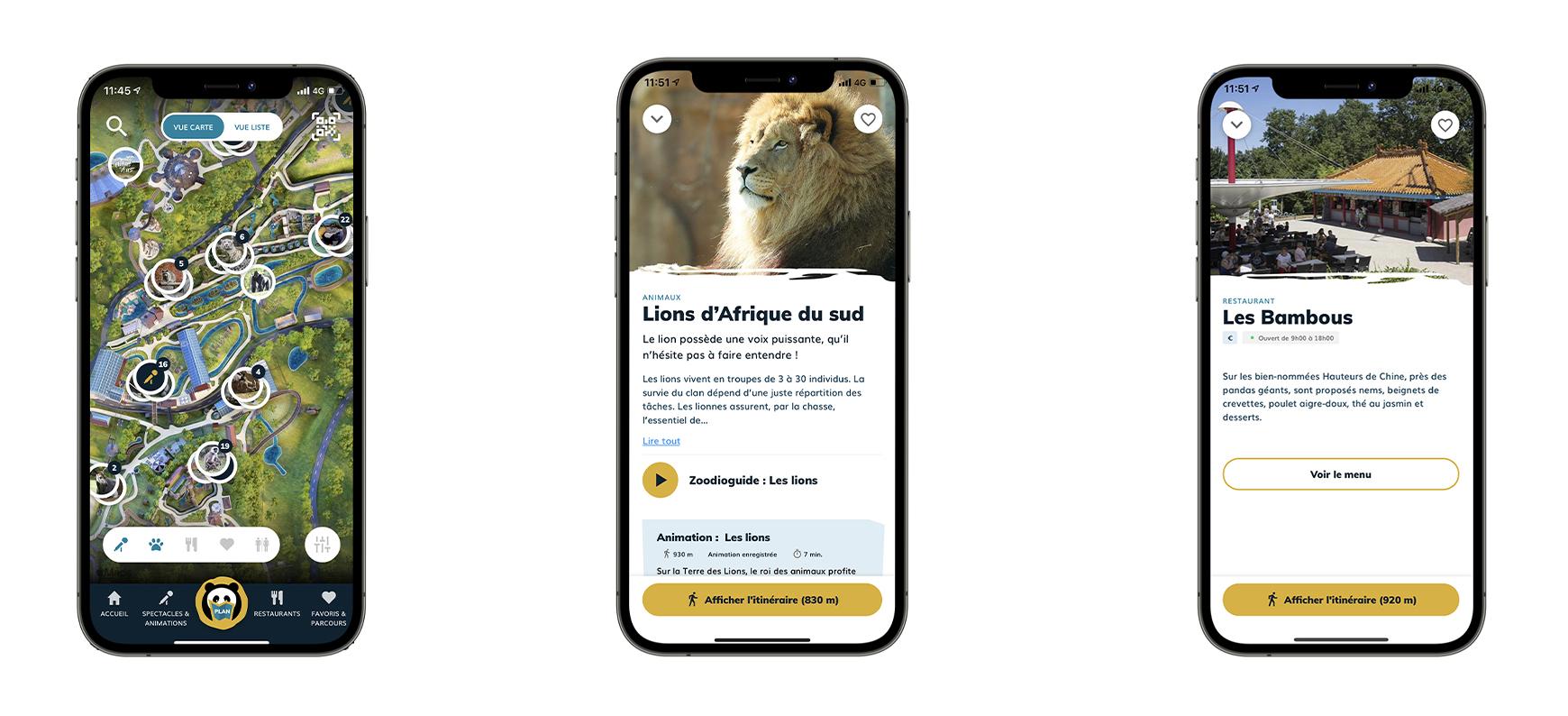 Nouvelle application ZooParc de Beauval